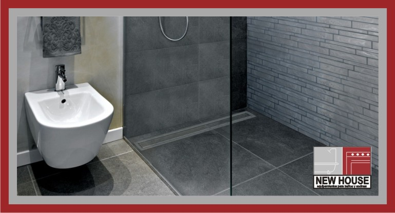 Desag e lineal para ducha ceramic new house for Sumidero lineal